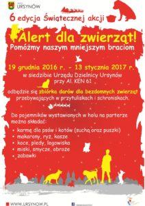 Alert dla zwierząt 2016/2017