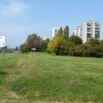 Ursynów, teren zielony przy ul. Polaka