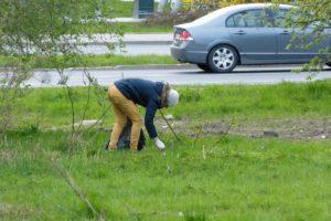 Ursynów wymiata, czyli posprzątaliśmy Park Polskich Wynalazców
