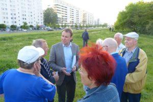 Spotkanie z mieszkańcami ul. Polaka, 25.05.2017