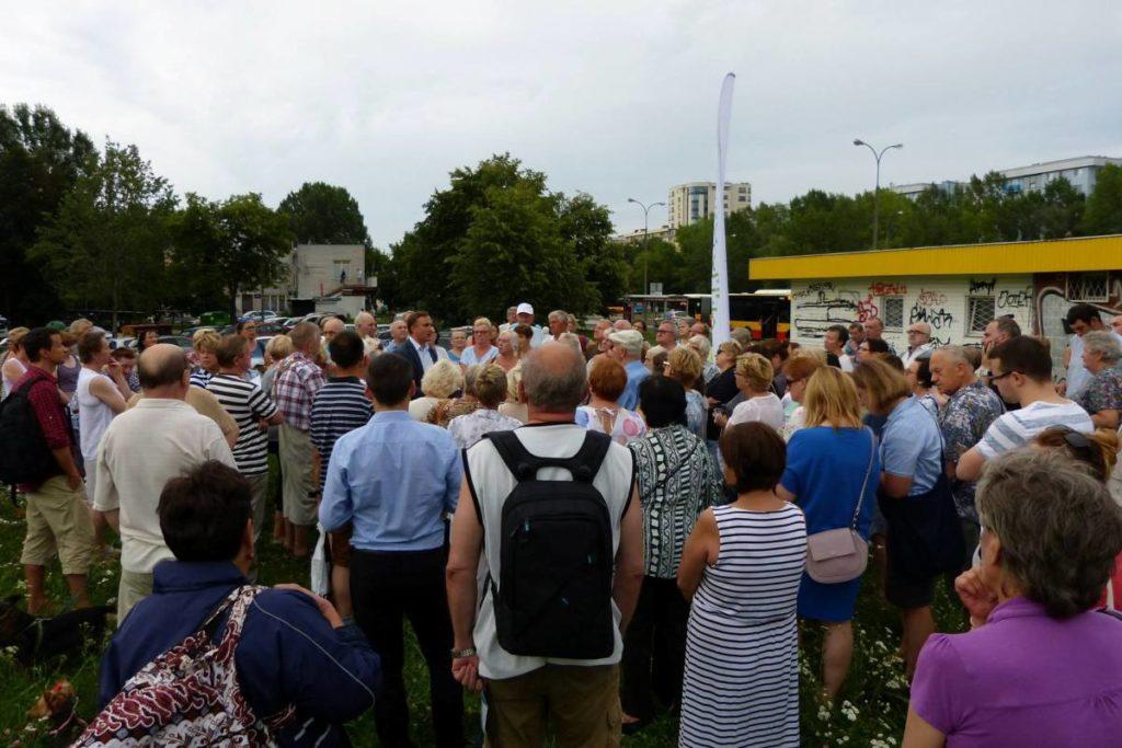 Spotkanie z mieszkańcami ul. Polaka