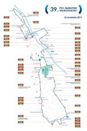 Trasa Maratonu Warszawskiego