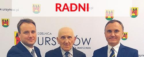 Radni Dzielnicy Ursynów - Otwarty Ursynów 2018-2023