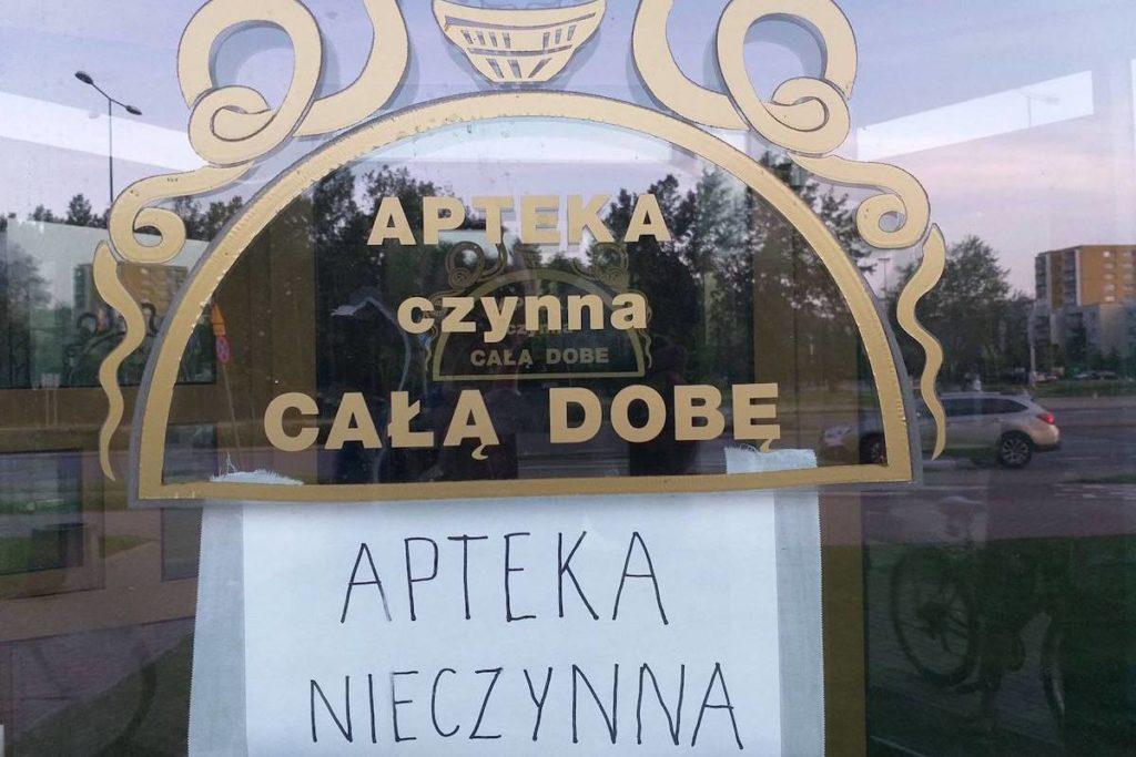 Apel w sprawie otwarcia apteki całodobowej na Ursynowie