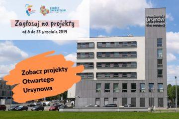 Do 26 września trwa głosowanie na projekty do budżetu obywatelskiego. Sprawdź projekty Otwartego Ursynowa