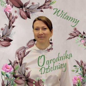 Ogrodnik Dzielnicy Ursynów, Magdalena Suszko