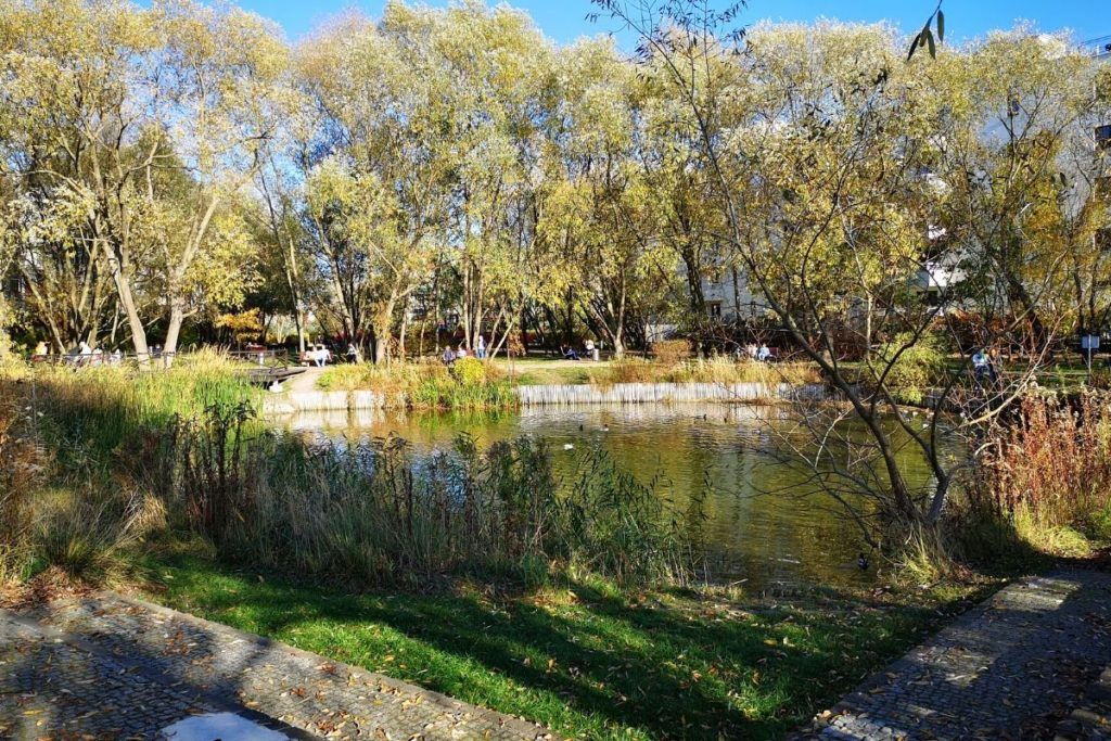 Park Moczydełko, Ursynów
