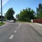 lustro drogowe przy Rosoła 20
