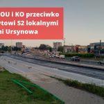 Radni OU i KO zwołują nadzwyczajną sesję w sprawie wyrażenia sprzeciwu wobec tranzytu z trasy S2 przez Ursynów