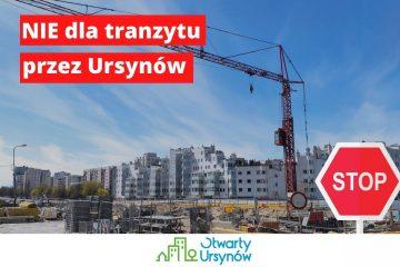Podpisz petycję: NIE dla tranzytu POW lokalnymi ulicami Ursynowa!